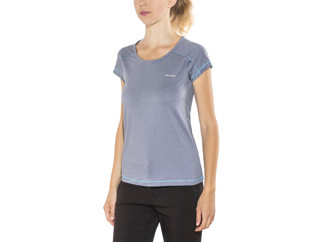 Columbia Peak to Point SS Shirt Women bluebell